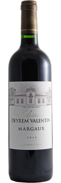 Château Deyrem-Valentin 2014