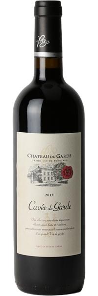 Château du Garde Côtes de Bordeaux Cuvée de Garde 2012