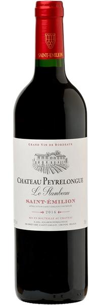 Château Peyrelongue Saint-Emilion Le Flambeau 2018