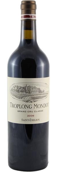Château Troplong Mondot Saint-Emilion 1er Grand Cru Classé B 2006