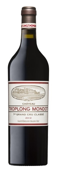 Château Troplong Mondot Saint-Emilion 1er Grand Cru Classé B 2012