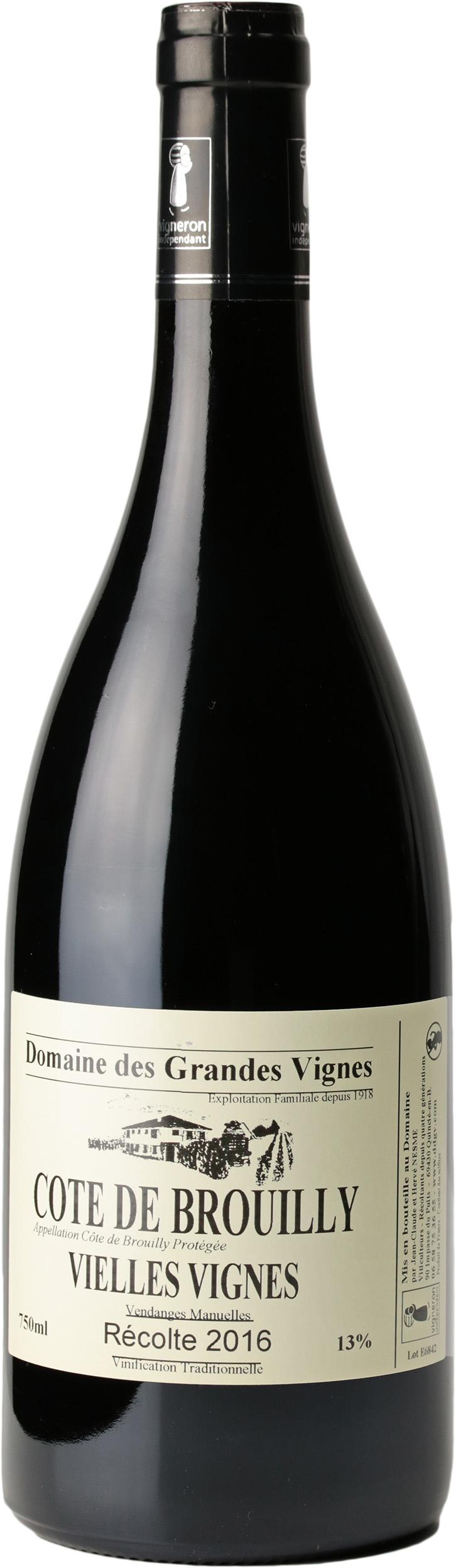 Côte de Brouilly Vieilles Vignes 2016