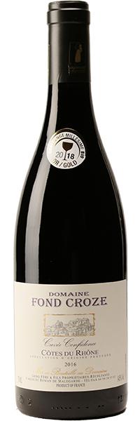 Côtes du Rhône Cuvée Confidence 2016