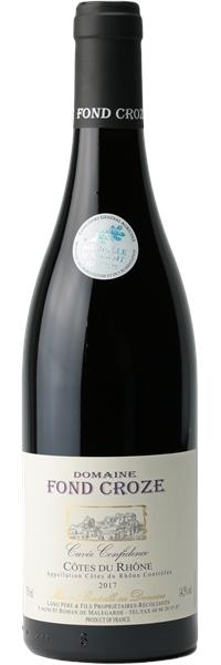 Côtes du Rhône Cuvée Confidence 2017