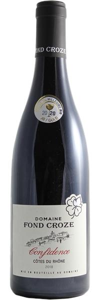 Côtes du Rhône Cuvée Confidence 2018