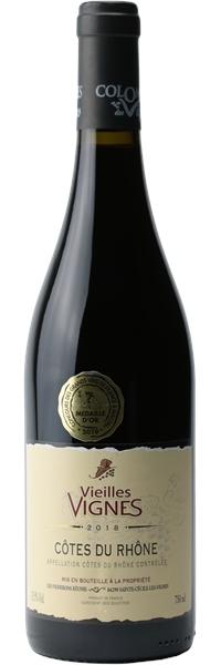Côtes du Rhône Vieilles Vignes 2018