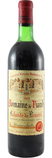Domaine de Viaud Lalande-de-Pomerol 1970