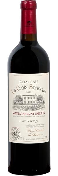 Montagne-Saint-Emilion Château la Croix Bonneau Cuvée Prestige 2016