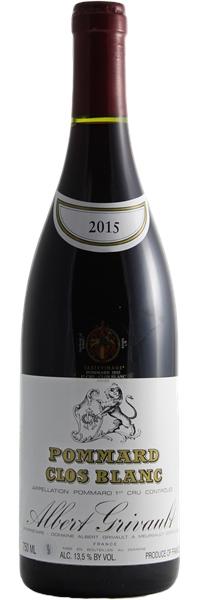 Pommard premier cru Clos Blanc 2015