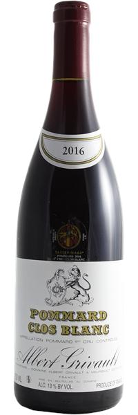 Pommard premier cru Clos Blanc 2016