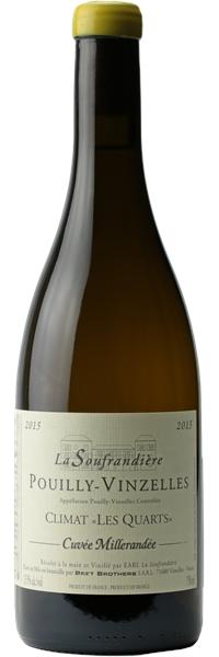 Pouilly-Vinzelles Les Quarts Cuvée Millerandée 2015