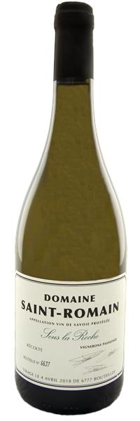 """Vin de Savoie Blanc de Savoie """"Sous la Roche"""" 2017"""