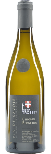 "Vin de Savoie Chignin Bergeron ""Fabien Trosset"" 2018"