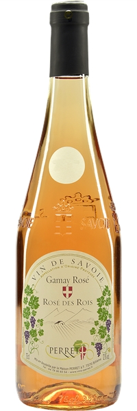 """Vin de Savoie Gamay Rosé """"Rosé des Rois"""" 2018"""