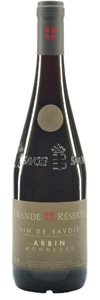Vin de Savoie Grande Réserve Mondeuse cru Arbin 2017