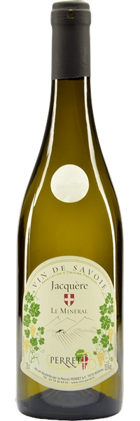 """Vin de Savoie Jacquère """"Le Minéral"""" 2018"""