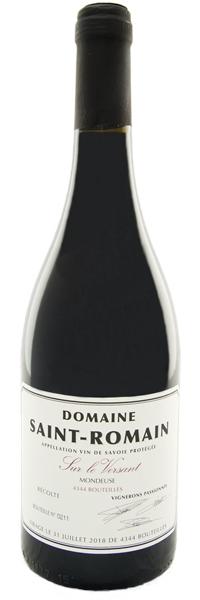 """Vin de Savoie Mondeuse """"Sur le Versant"""" 2017"""