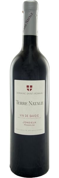 """Vin de Savoie Mondeuse cru Jongieux """"Terre Natale"""" 2017"""